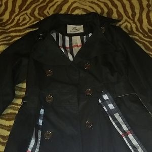 Burberry london black coat